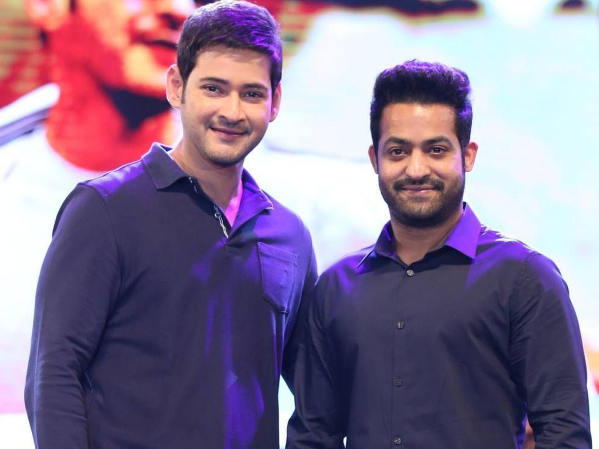 Jr NTR slips in to another big multistarrer with Mahesh Babu
