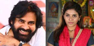 Love track between Pawan Kalyan and Anjali