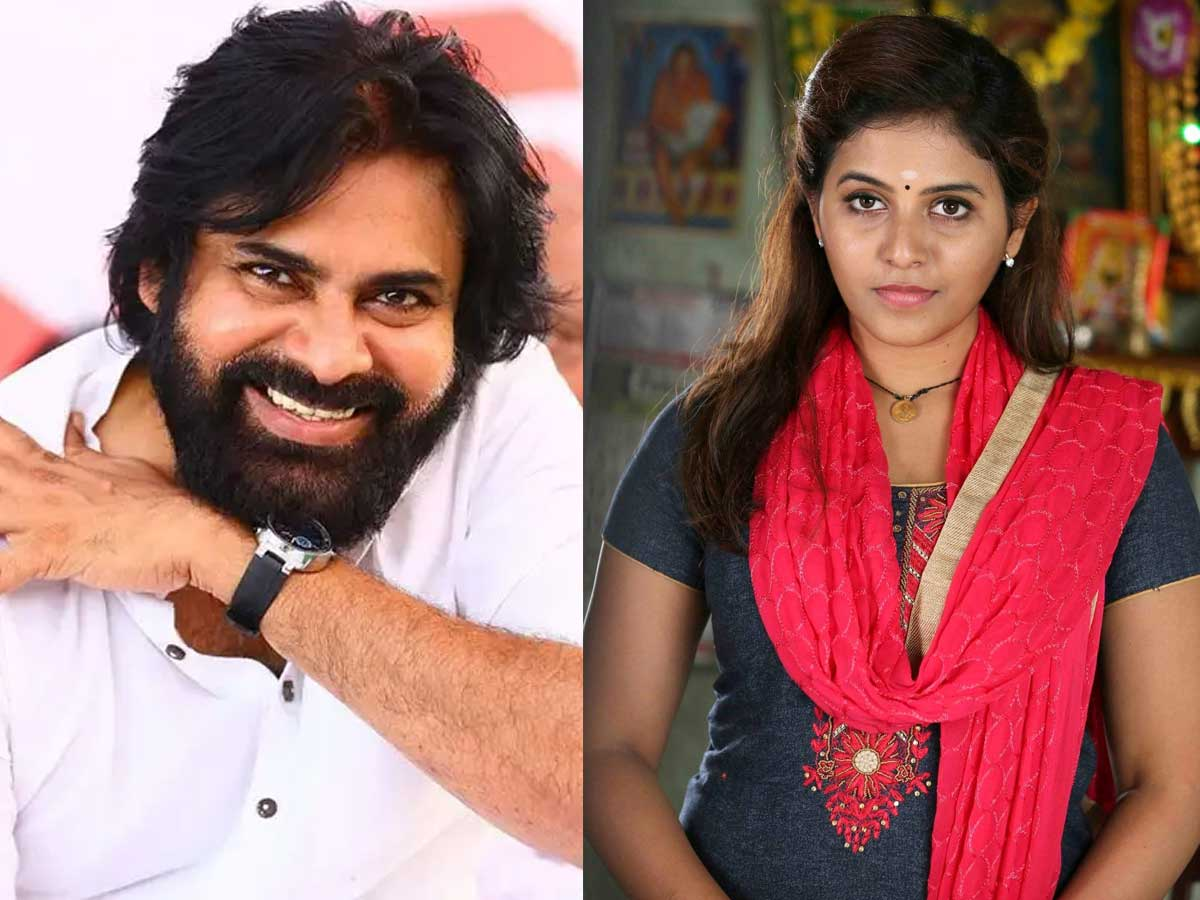 Love track between Pawan Kalyan and Anjali
