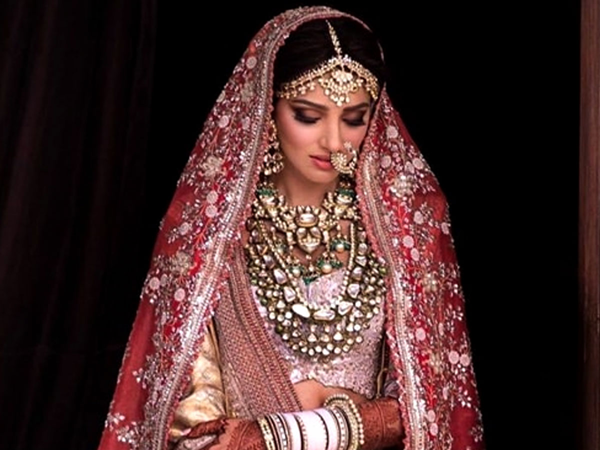 Miheeka Bajaj wedding lehenga took 10,000 man hours