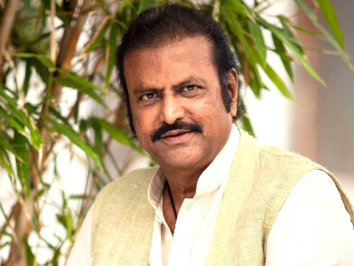 Unknown people warning to Mohan Babu in his house