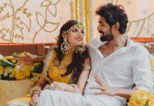 Mr Rana and Mrs Miheeka perform Satyanarayan Pooja