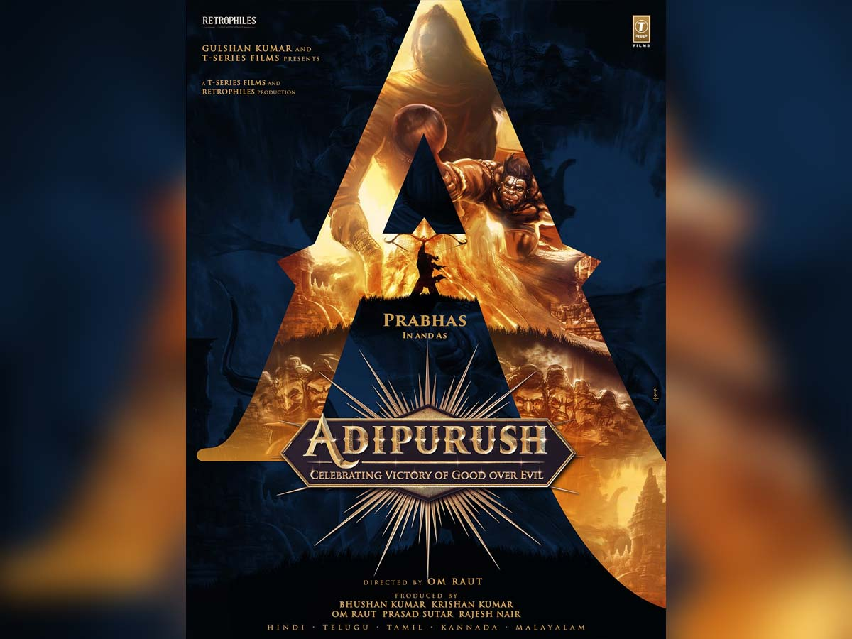 Prabhas in and as Adipurush : Celebrating victory of good over evil!