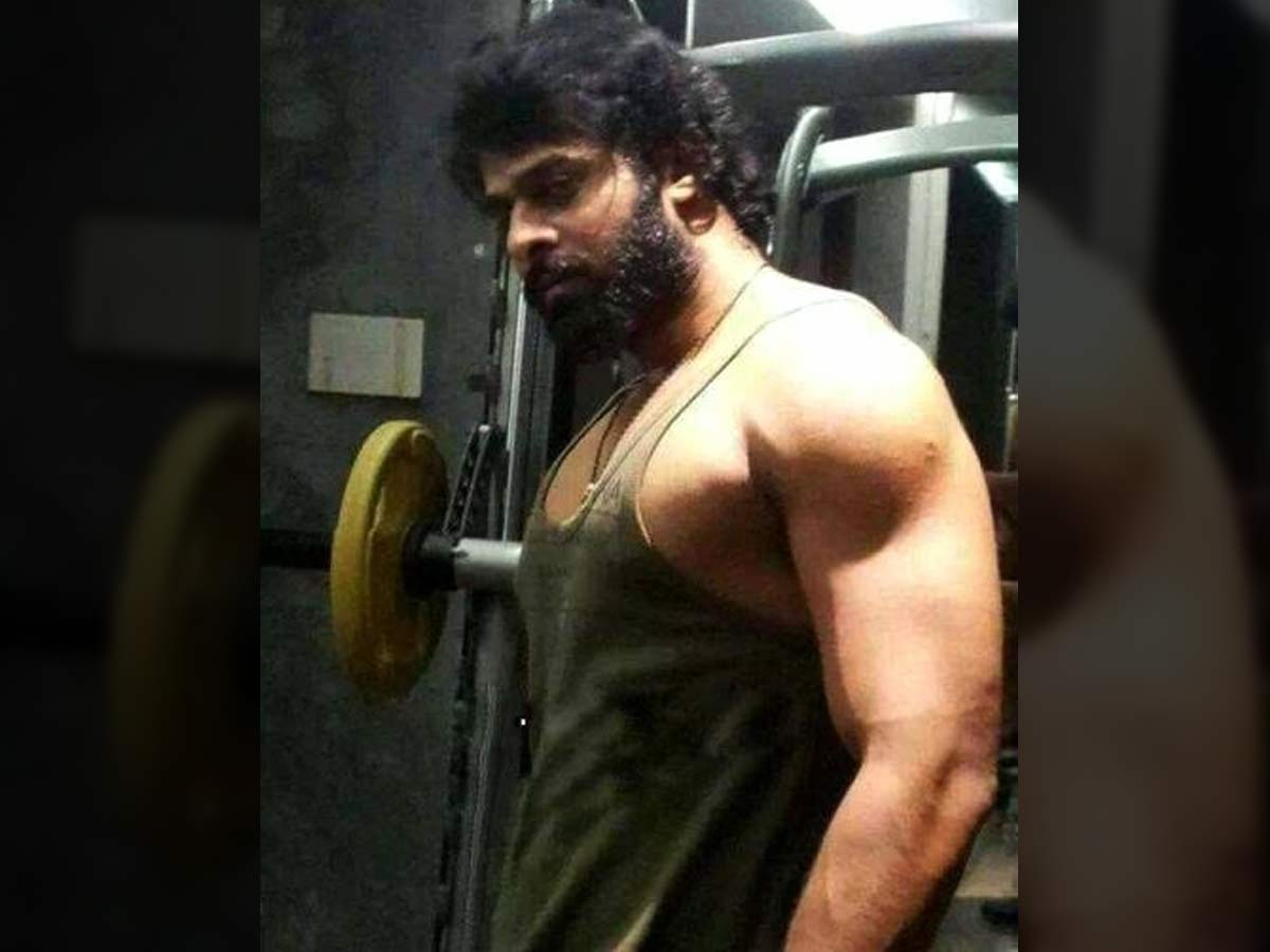 Prabhas working on his body for Adi Purush