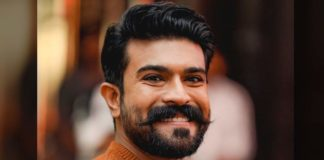 RRR Ram Charan stands in third place