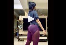 Ritika Singh workout steamy and sensuous intransparent pants
