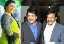 Roja condition! To work only with Two heroes- Nagarjuna and Chiranjeevi