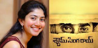 Sai Pallavi targets Negative role Shyam Singha Rao