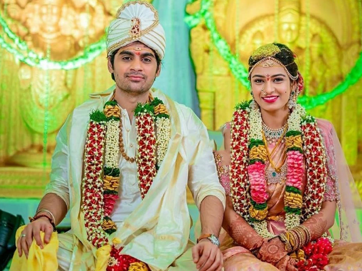 Sujeeth ties the knot with Pravallika