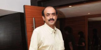 Suresh Babu invites Nithin-Shalini and Nikhil-Pallavi to his palatial residence