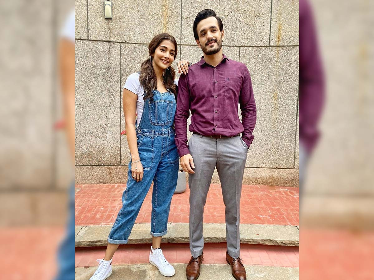 Akhil- Pooja Hegde back on sets of Most Eligible Bachelor
