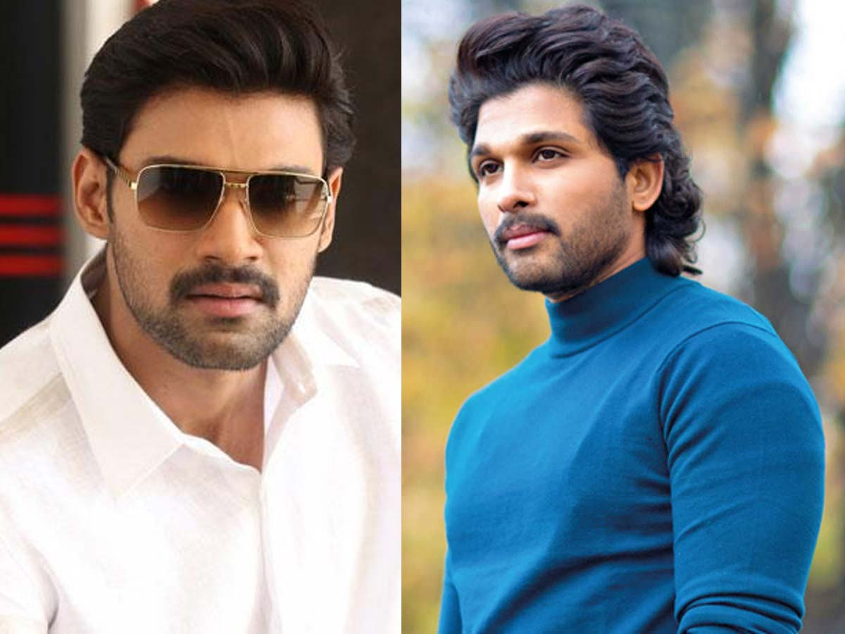 Bellamkonda starts racing! Competition with Allu Arjun