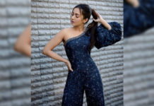 Catherine Tresa special song in Ravi Teja film