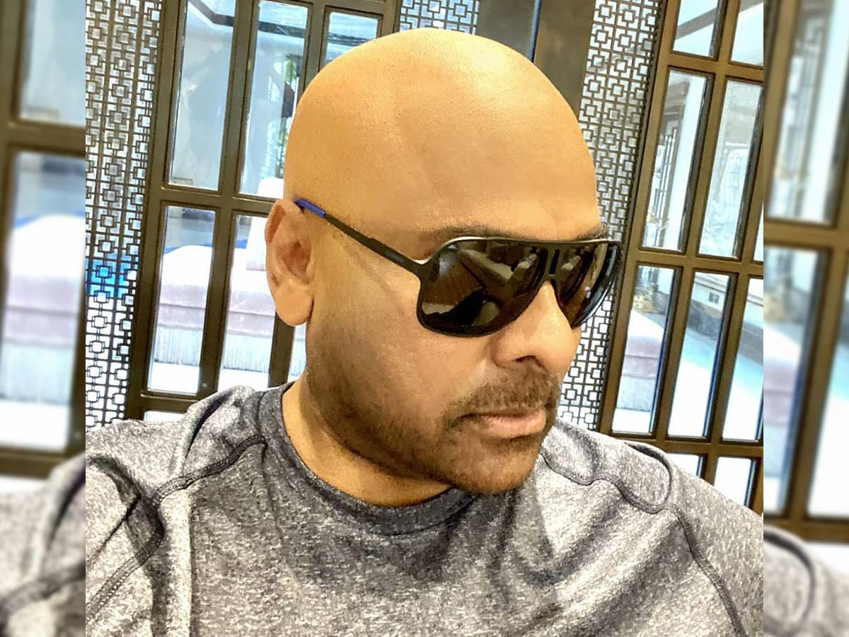 Chiranjeevi's tonsured getup: Is that a test look?
