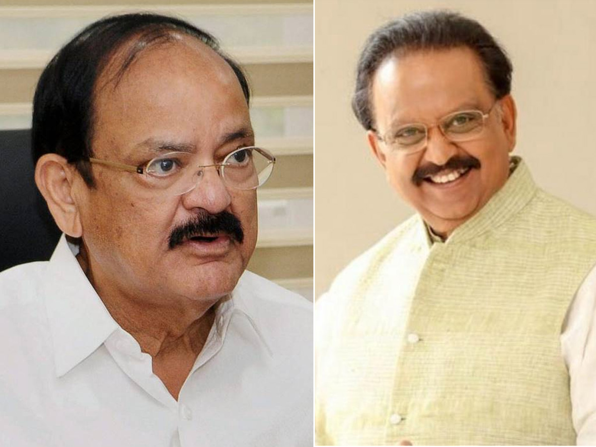 Indian Vice President enquires about Balu's condition
