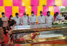 Minister Anil Kumar Yadav attends SPB funeral on behalf of Andhra govt