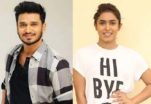Nikhil actress removes her shirt when police arrive?