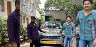 Nithiin gifted Range Rover car to Bheeshma director