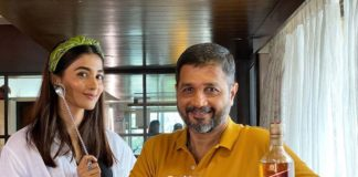 Pooja Hegde made delicious Johnnie Tamarind Highball for her dad