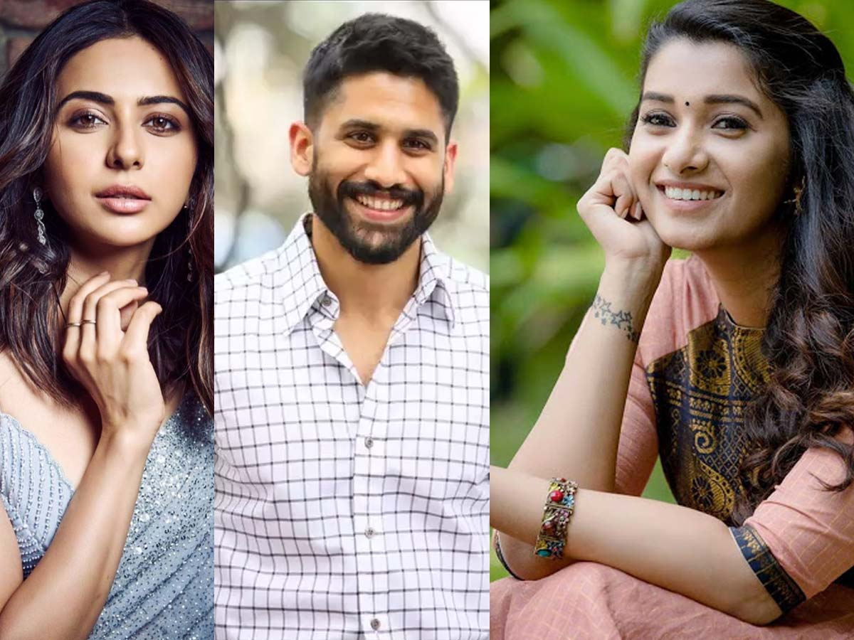 Rakul Preet Singh, Priya Bhavani Shankar in Naga Chaitanya Thank You