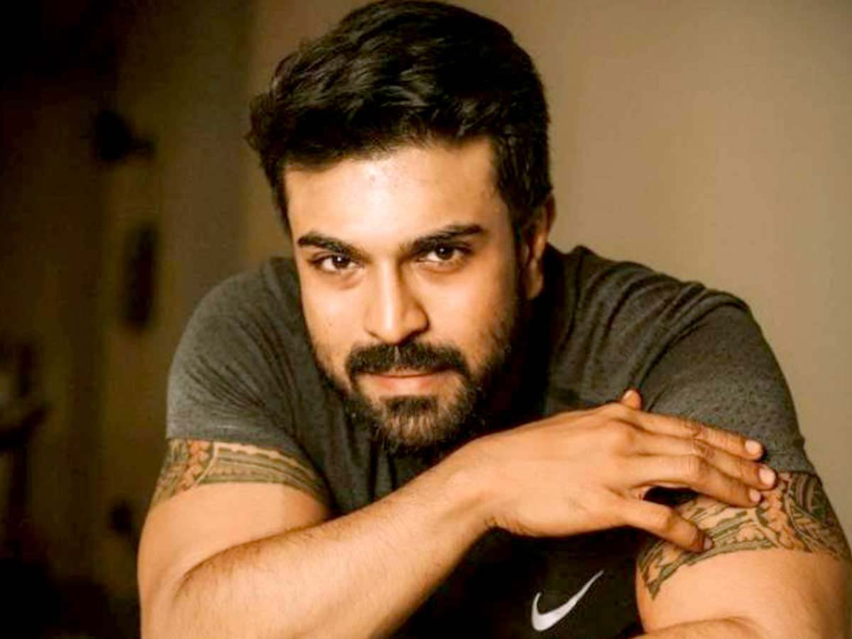 Ram Charan Serious efforts to bring lucky mascot