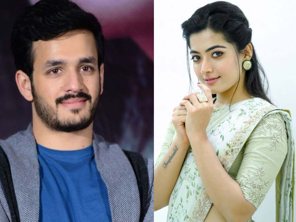 Rashmika Mandanna to be Akhil's love interest?