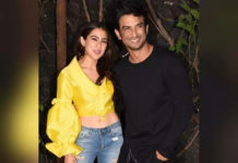 Sara Ali Khan admits to dating Sushant Singh Rajput