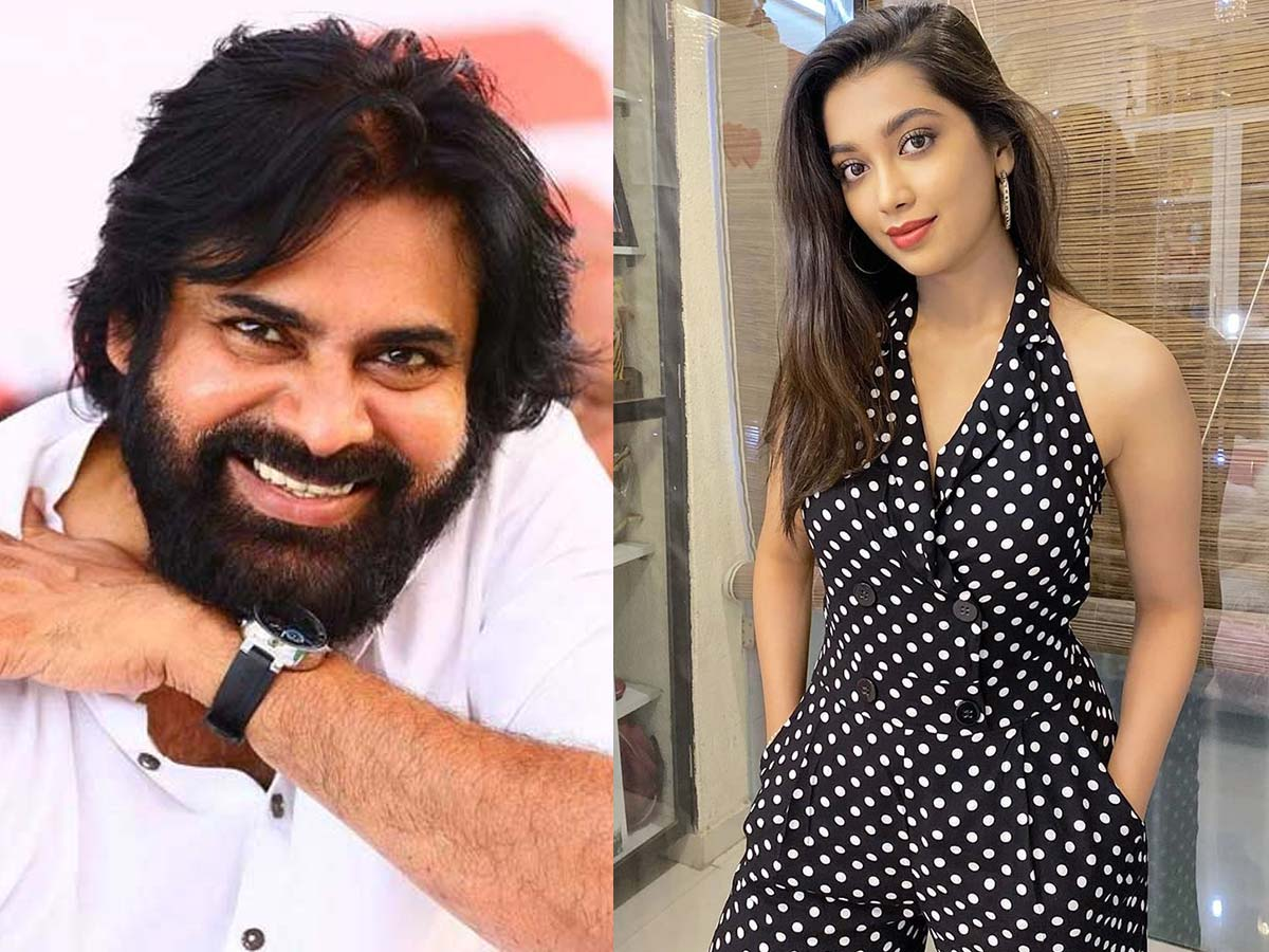 She wants high-octane action scenes with Legend Pawan Kalyan