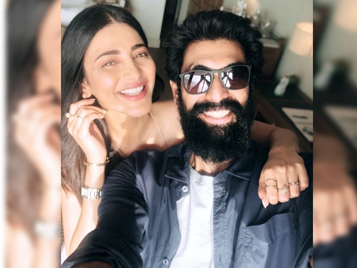 Shruti Haasan uniting Rana Daggubati for web series