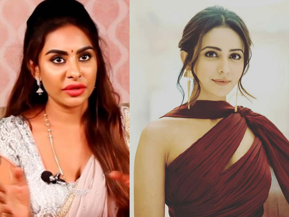 Sri Reddy lashes out at Rakul Preet Singh