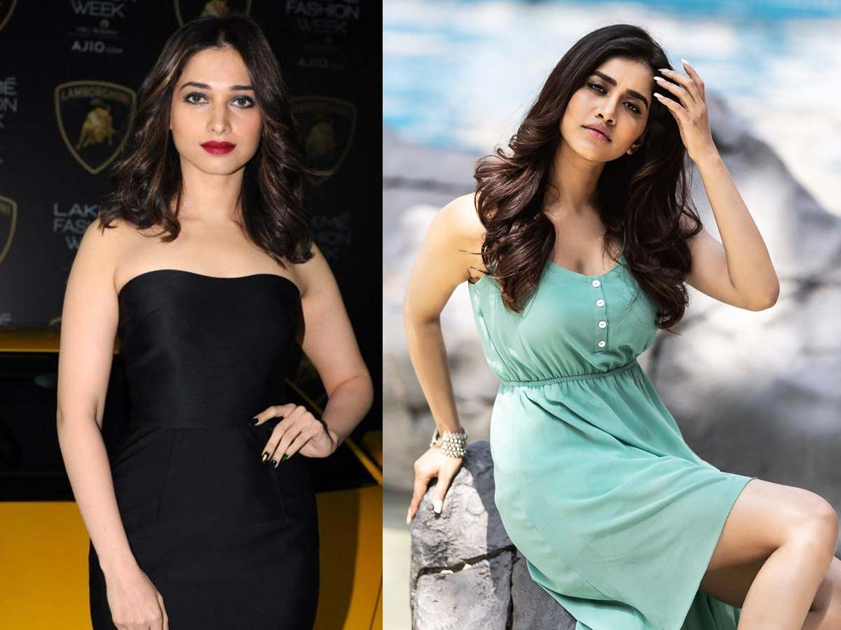 Suspense closed! Tammanah and Nabha Natesh in Andhadhun remake