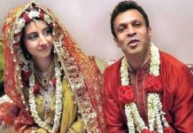 Wedding Picture of Sanjjanaa Galrani - Dr Azeez Pasha out! Is she married or not?