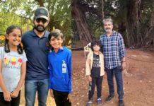 Younger Version of Jr NTR, Ram Charan and Alia Bhatt in RRR