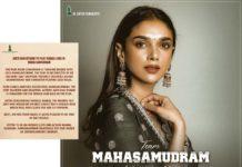 Aditi Rao Hydari- Amiddle-class girl in Maha Samudram