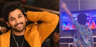Allu Arjun son Ayaan dancing to Korean pop song
