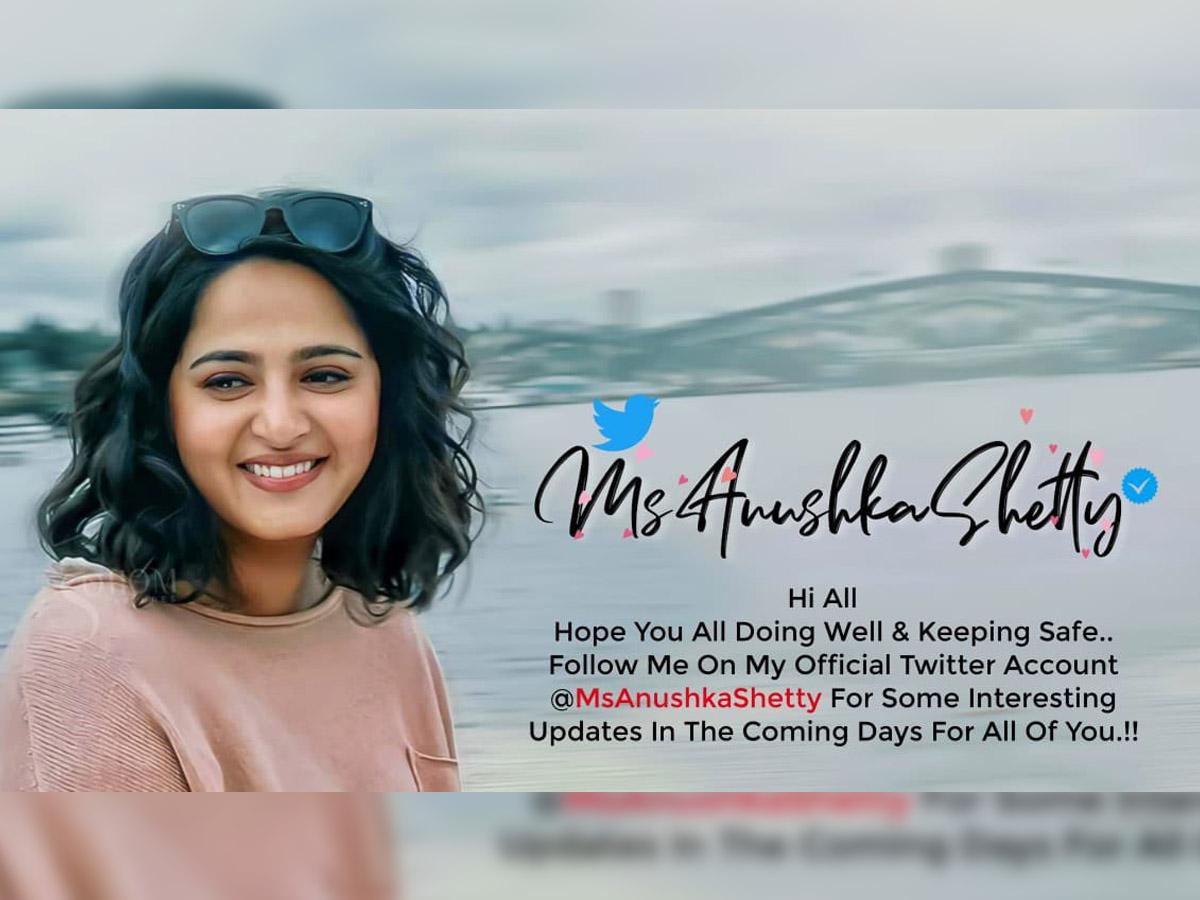 Anushka Shetty joins Twitter