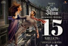 Beats of Radhe Shyam sets new benchmarks! Crosses 15 million cumulative views