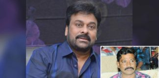 Chiranjeevi hires the services of Akula Siva