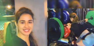 Disha Patani lifts 75 Kg weights: She calls it a piece of cake