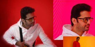 Extraordinary look: Nithiin ad shoot