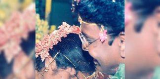 Gunasekhar shares his wedding pic with Rigini