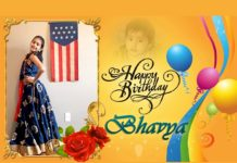 Happy birthday to Bhavya