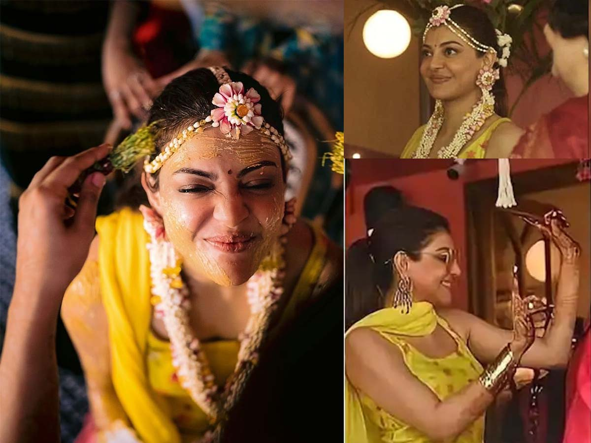 Kajal Aggarwal and Gautam Pre-wedding Festivities starts