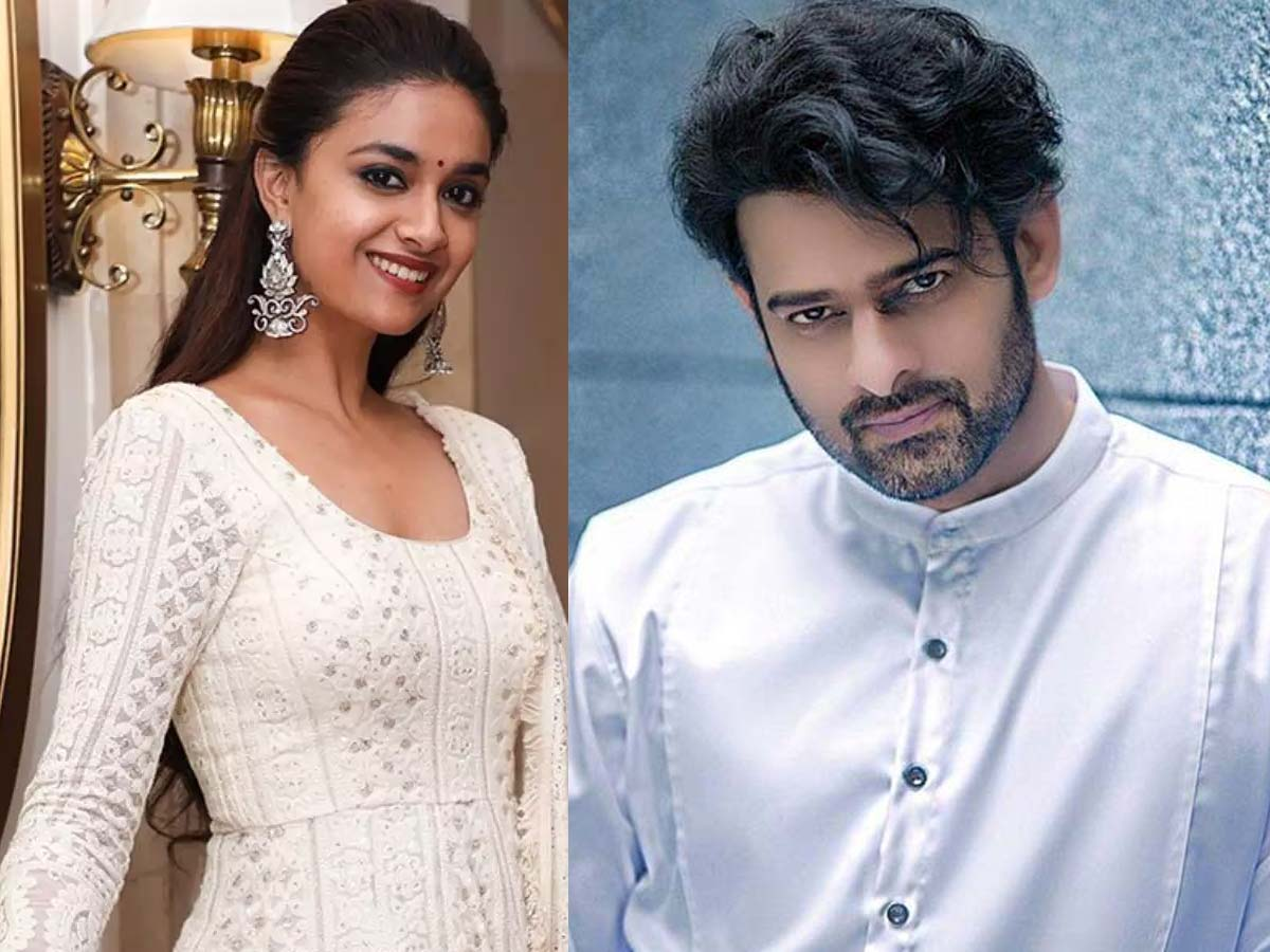 Keerthy Suresh backed out seeing the troubles of Prabhas