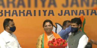 Khushbu Sundar joins BJP