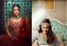 Niharika Konidela bride-to-be look in Ashwini Reddy outfits
