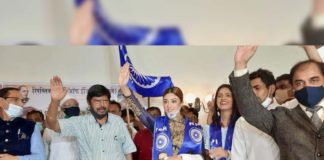 Payal Ghosh joins Ramdas Athawale-led Republican Party of India