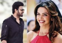 Prabhas and Deepika Padukone to have equal importance