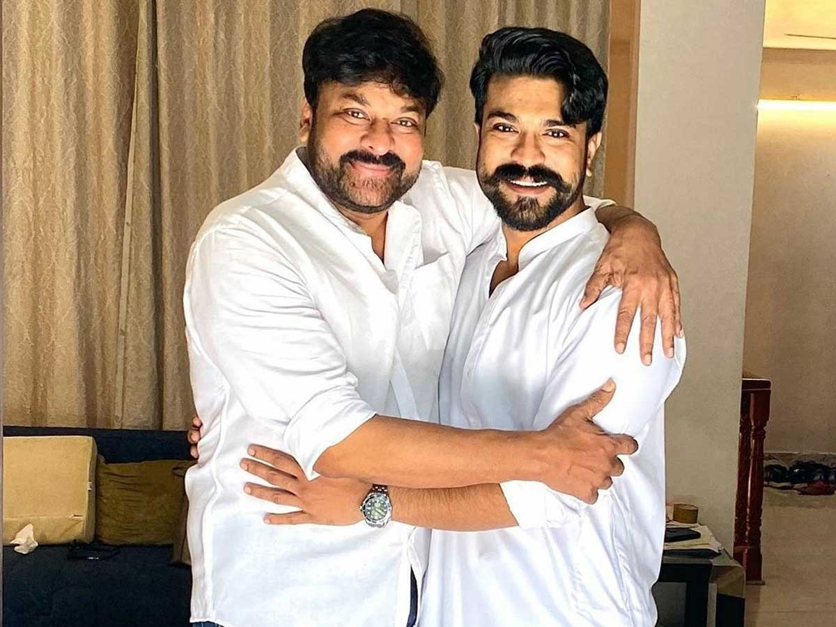 Ram Charan emerges as a super support for Chiranjeevi