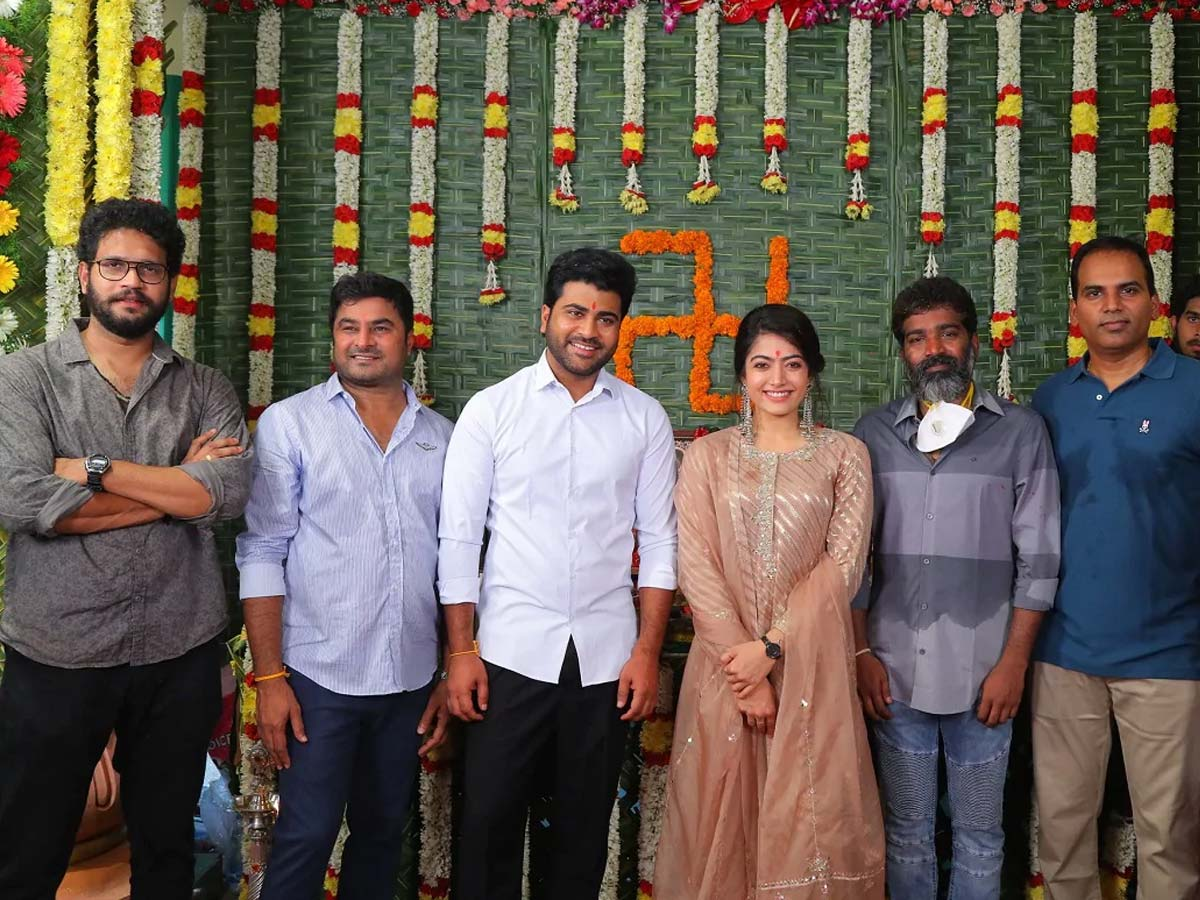 Rashmika Mandanna massive salary for Sharwanand starrer